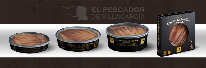lomos de sardinas el pescador de villagarcia