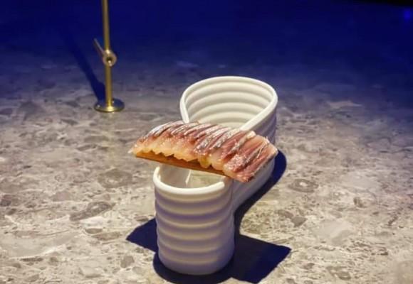 Soberbia preparación de sardina Ahumada